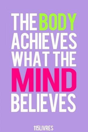 Mind over matter'