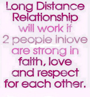 TWO PEOPLE INVOLVE ARE STRONG IN FAITH, LOVE AND RESPECT FOR EACH