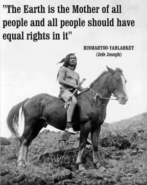 ... people, and all people should have equal rights in it