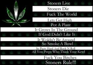 stoner sayings