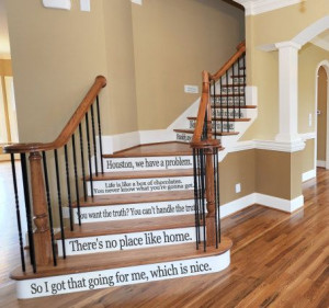 Classic Movie Quotes for Stairs, Windows or Wall Vinyl Decal on Etsy ...
