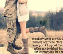 Army Girlfriend Quotes And