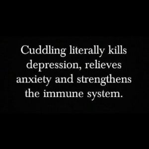 Cuddling Literally Kills Depression, Relieves, Anxiety And Strengthens ...