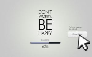 1500x500 Don't Worry Be Happy Quote Twitter Header Photo