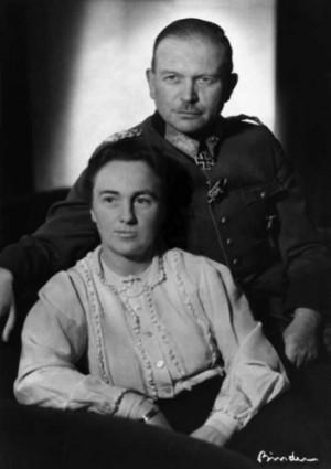 Heinz Guderian mit seiner Frau Margarethe