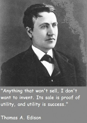 Thomas alva edison famous quotes 1