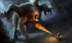 Alpha Coders Wallpaper Abyss Sci Fi Creature 232439