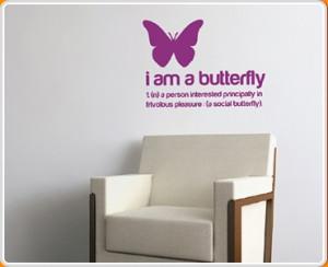 ... interested principally in frivolous pleasure (a social butterfly