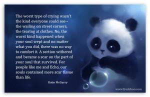 katie McGarry sad quote