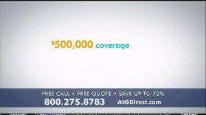 AIG Direct TV Spot, 'Quotes' - Screenshot 2