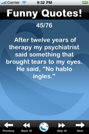 Funny Quotes! Entertainment iPhone & iPod Touch App Review & Download