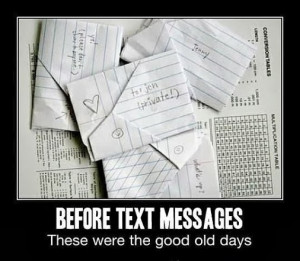 Throwback Thursday | Before Text Messages | From, Funny Technology ...
