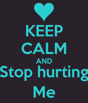 Stop Hurting Me With Your Words Fb Timeline Pro Covers Picture