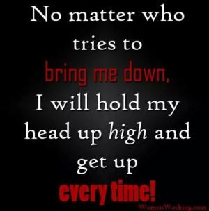 Hold My Head High
