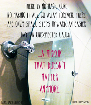 There is no magic cure for an eating disorder. Just little steps and a ...