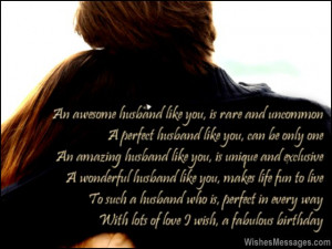 birthday poems for husband your husband s birthday is the perfect time ...
