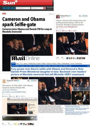 ... David Cameron, Denmark's Prime Minister Helle Thorning Schmidt
