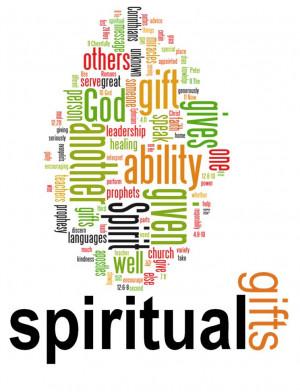 Spiritual Gifts & I'm Sharing a Recipe!