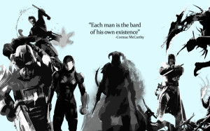 ... quotes infamous monochrome mass effect 3 inspirational fallout 3