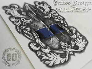 Police Officer Tattoo Designs