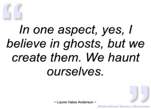 in one aspect laurie halse anderson