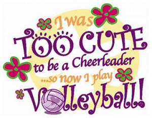 Volleyball Team Slogans Theme...