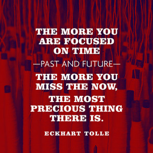 eckhart tolle quote - now