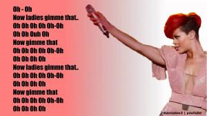 Rehab Rihanna Lyrics Gallery