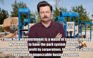 Ron Swanson's 12 Awesomely Hilarious Libertarian Quotes About ...