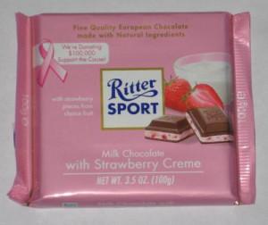 Square Milka Strawberry Yogurt