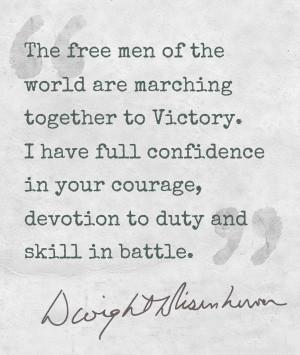Dwight D Eisenhower Quotes D Day ~ The General Dwight D. Eisenhower ...