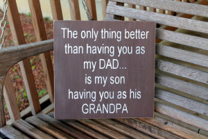 Pregnancy Quotes For Dads Sign, quotes about dads