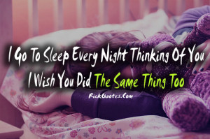 Cute Thinking About You Quotes