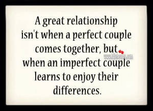 ... couple comes together, but when an imperfect couple learns to enjoy