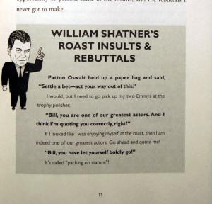 Bill Shatner mentions his