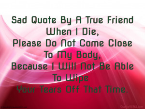 True Friends Quotes HD Wallpaper 12