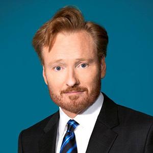 photograph of Conan O'Brien.