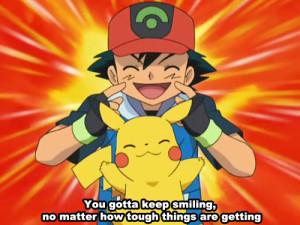 pikachu pokemon Ash Ketchum pokemon quote
