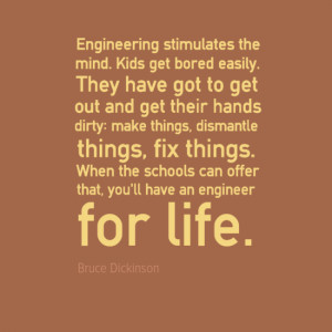 Engineering Quotes - Bruce Dickinson