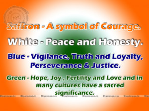 Indian flag Color Meaning.flag wallpaper and greetings.