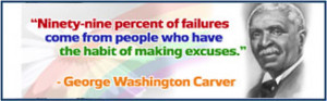 George Washington Carver - Custom Banner - Famous Quotes