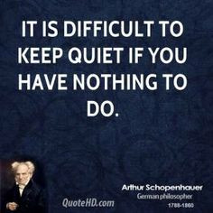 Peace and quiet pictures and quotes | It is difficult to keep quiet if ...