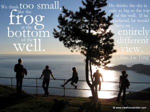 The Inspiration Series – California, Quote By Mao Tse-Tung