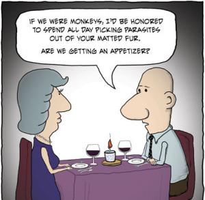 Romantic Funny Cartoons Quotes