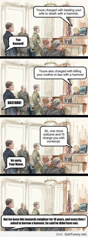 Contempt of court - Funny Pictures, Funny Quotes, Funny Memes, Funny ...