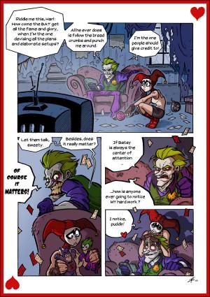 Why Joker needs Harley by Boredman