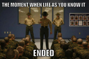 ... of the most exciting and equally terrifying moments during boot camp