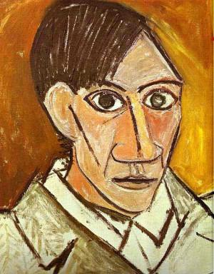 Self Portrait by Pablo Picasso