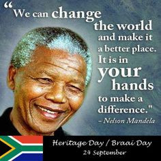 Heritage Day is a South African public holiday celebrated on 24 ...
