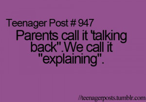 parents, teenager post, truth